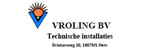 Installatiebedrijf Vroling