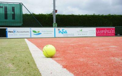 Uitnodiging opening vernieuwde tennispark