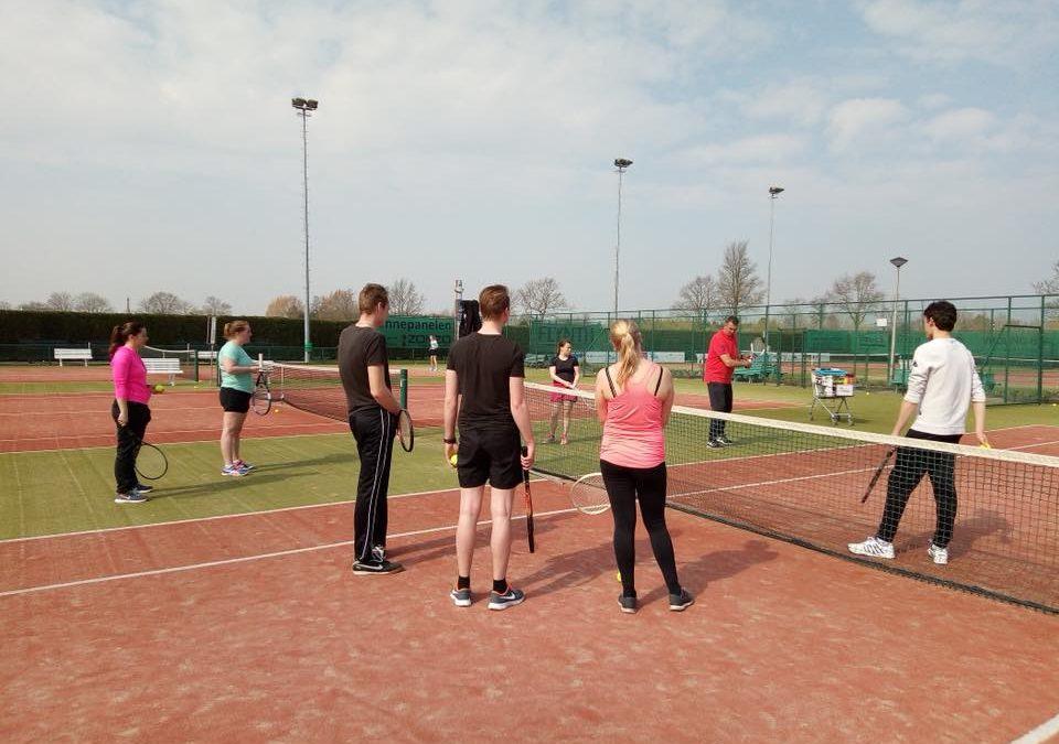 Tennis Clinic 30 maart 2019