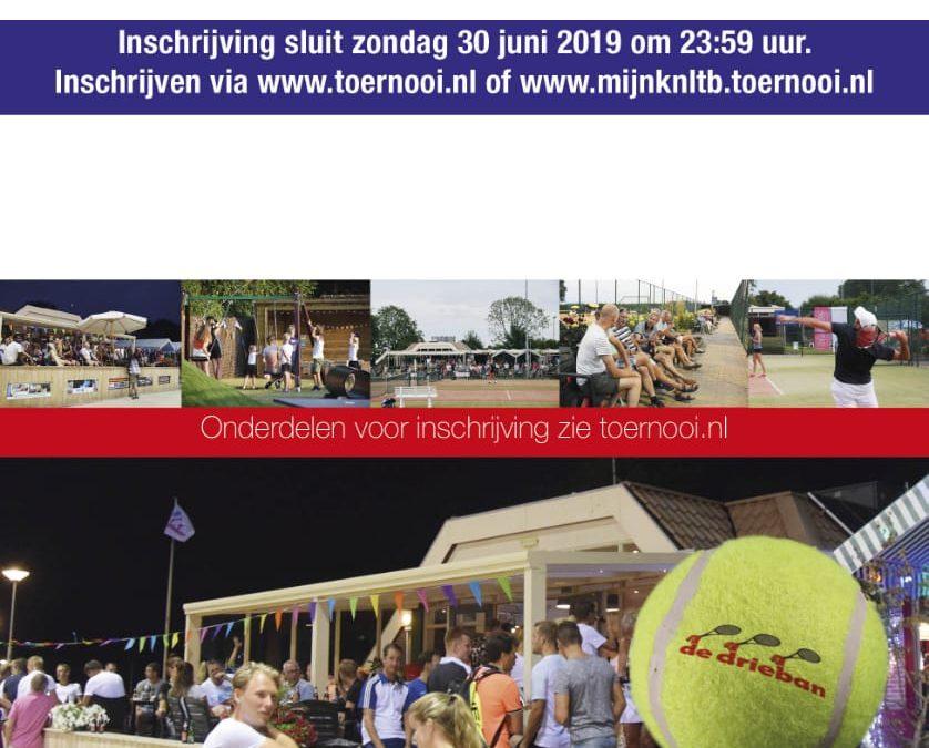 Inschrijving Open Drieban Toernooi 2019